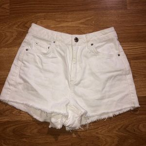 "Topshop ""MOM"" Jean shorts"